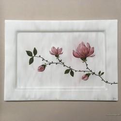 "Patera prosta 35x25 - ""Magnolia"""