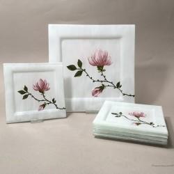 "Zestaw paterek - ""Magnolia"""