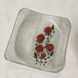 """Outlet - Paterka 12x12 - """"Różyczki czerwone"""""""