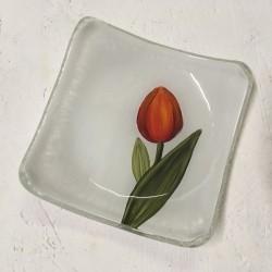 """Outlet - Paterka 12x12 - """"Tulipan czerwony"""""""