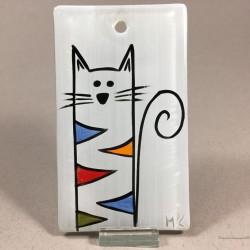 "Obrazek 7x12 - ""Kolorowy Kot"""