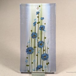 """Obrazek 8x16 - """"Gerbery niebieskie"""""""