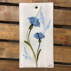 """Obrazek 8x16 - """"Chabry niebieskie"""""""