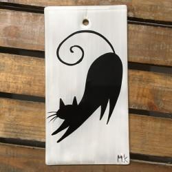 """Obrazek 8x16 - """"Czarny Kot"""""""