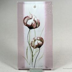 "Obrazek 8x16 - ""Maki różowe"""