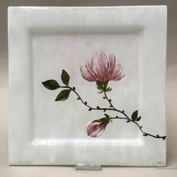 "Patera Prosta 25x25 - ""Magnolia"""
