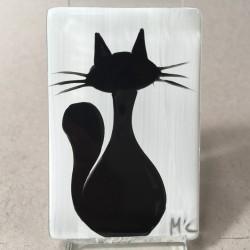 """Magnes 4x6 - """"Czarny Kot"""""""