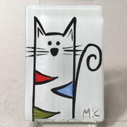 """Magnes 4x6 - """"Kolorowy Kot"""""""