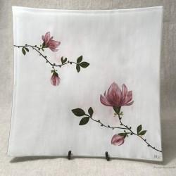 """Patera Podniesione Rogi 30x30 - """"Magnolia"""""""
