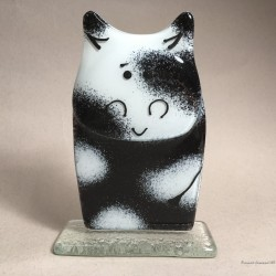 Figurka Krowa biało czarna
